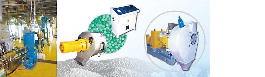 水雾(水环)式塑料造粒机组